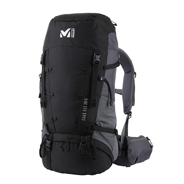 MILLET(ミレー) SAAS FEE 30+5/0247/BLACK NOIR/M MIS0640ブラック リュック バックパック バッグ トレッキングパック トレッキング30 アウトドアギア