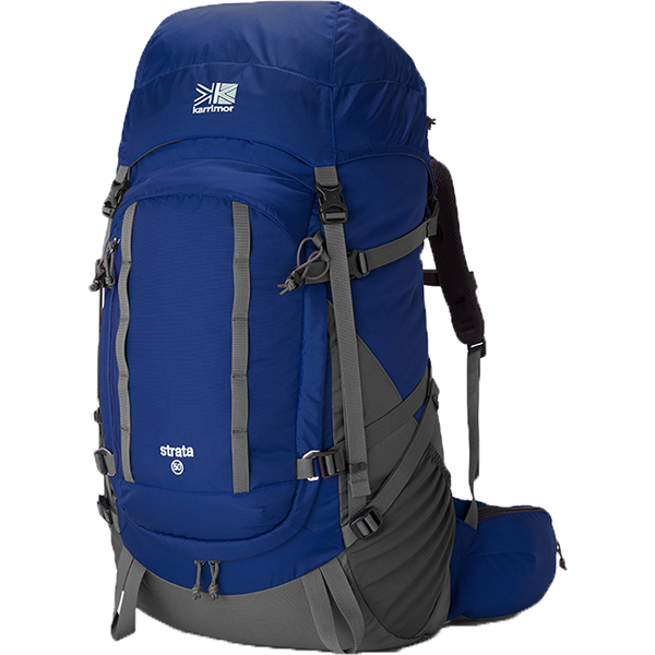karrimor(カリマー) ストラータ 50 タイプ1/アビスブルー 500751-4620アウトドアギア トレッキング50 トレッキングパック バッグ バックパック リュック ブルー