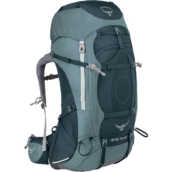 OSPREY(オスプレー) エーリエルAG 75/ブースベイグレー/M OS50065女性用 グレー リュック バックパック バッグ トレッキングパック トレッキング大型 アウトドアギア