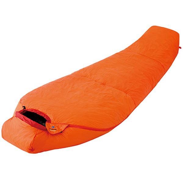 finetrack(ファイントラック) ポリゴンネストオレンジ/OG FAG0551オレンジ ウインタータイプ(冬用) シュラフ 寝袋 アウトドア用寝具 マミー型 マミーウインター アウトドアギア