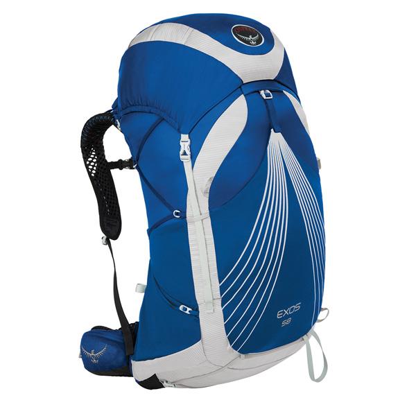 OSPREY(オスプレー) エクソス 58/パシフィックブルー/L OS50345アウトドアギア トレッキング60 トレッキングパック バッグ バックパック リュック ブルー 男性用