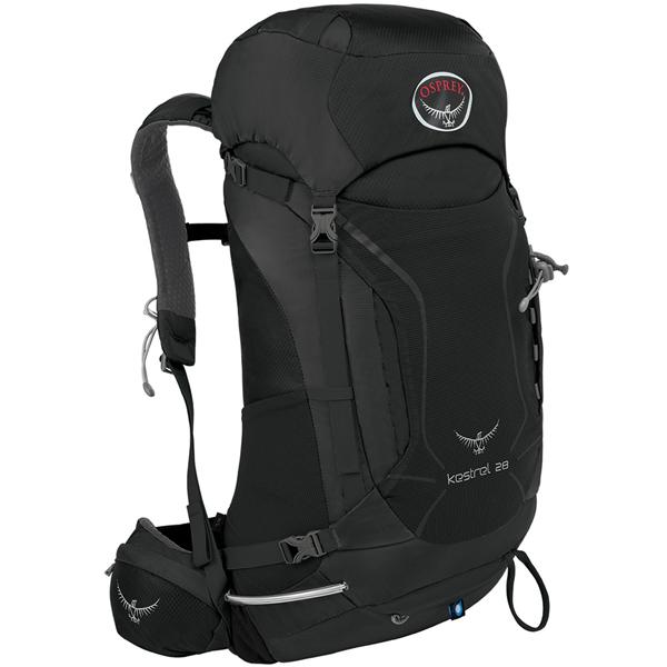 OSPREY(オスプレー) ケストレル 28/アッシュグレー/M/L OS50152ブラック リュック バックパック バッグ トレッキングパック トレッキング30 アウトドアギア