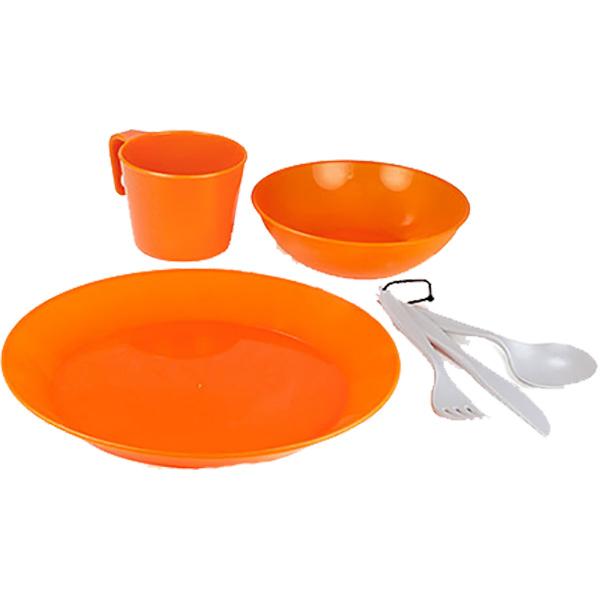 GSI(ジーエスアイ) GSI Cscd. 1P.テーブルセット OR BPAF 11871938オレンジ セット キャンプ用食器 アウトドア テーブルウェア テーブルウェアセット アウトドアギア