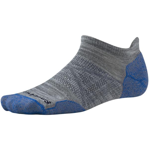 SmartWool(スマートウール) PhDアウトドアライトマイクロ/ライトグレー/L SW71050男性用 グレー 靴下 メンズウェア ウェア ソックス ウール アウトドアウェア
