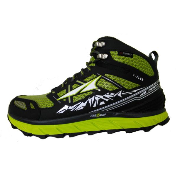 ALTRA(アルトラ) LONEPEAK3.0 NEOSHELL MID Men/ライム/US8.5 A1653MID1-085男性用 グリーン ブーツ 靴 トレッキング トレッキングシューズ ハイキング用 アウトドアギア