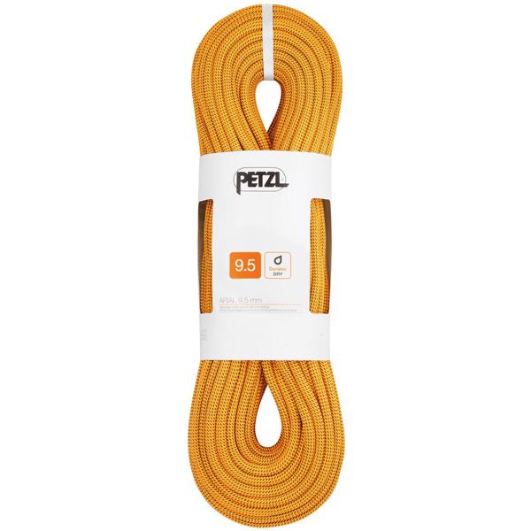 PETZL(ペツル) アリアル 9.5mm/Gold/60 R34AN060アウトドアギア シングルロープ ロープ アウトドア 登山 トレッキング ゴールド おうちキャンプ ベランピング