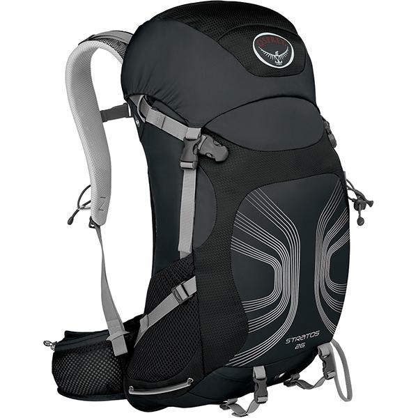 OSPREY(オスプレー) ストラトス 26/アンスラサイトブラック/M/L OS50321アウトドアギア デイパック バッグ バックパック リュック ブラック 男性用 おうちキャンプ