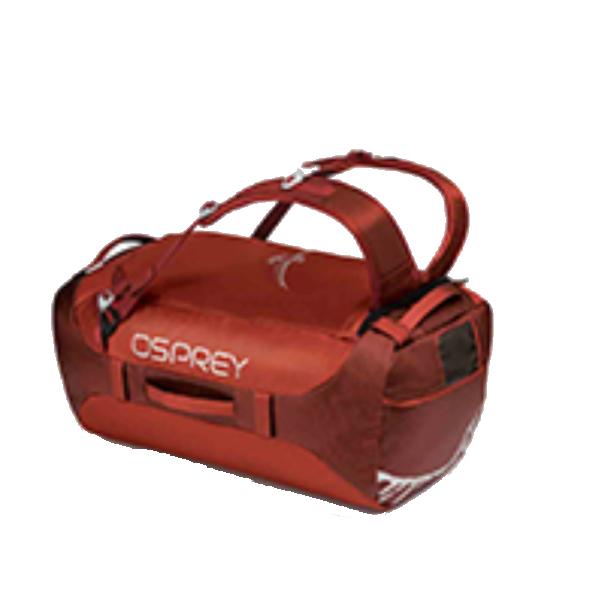 OSPREY(オスプレー) トランスポーター 65/ラフィアンレッド/ワンサイズ OS55183レッド ダッフルバッグ ボストンバッグ トラベル・ビジネスバッグ ダッフル アウトドアギア