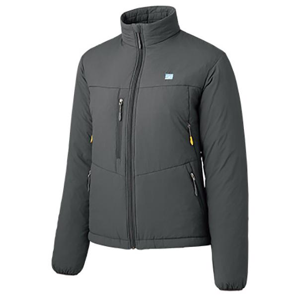 finetrack(ファイントラック) ポリゴン4ジャケット Ws SG FIW0223女性用 グレー アウター メンズウェア ウェア ジャケット 中綿入り ジャケット 中綿入り女性用 アウトドアウェア