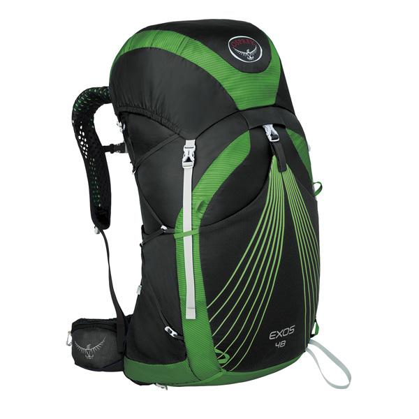OSPREY(オスプレー) エクソス 48/バサルトブラック/L OS50346アウトドアギア トレッキング50 トレッキングパック バッグ バックパック リュック ブラック 男性用