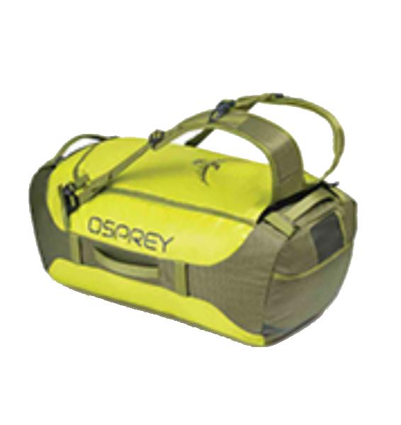OSPREY(オスプレー) トランスポーター 65/サブライム/ワンサイズ OS55183イエロー ダッフルバッグ ボストンバッグ トラベル・ビジネスバッグ ダッフル アウトドアギア