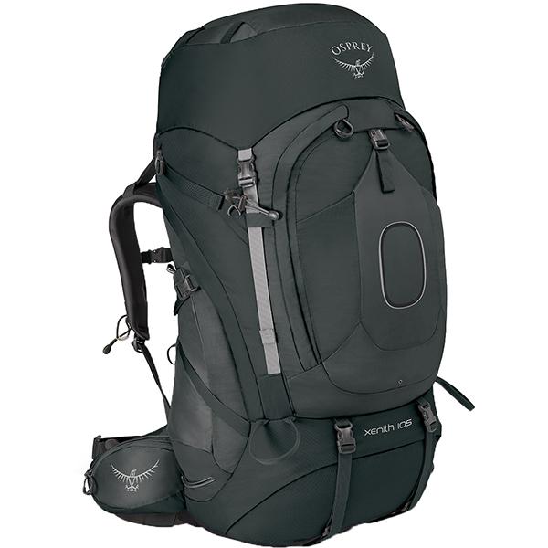OSPREY(オスプレー) ジーニス 105/テクタイトグレー/M OS50011グレー リュック バックパック バッグ トレッキングパック トレッキング大型 アウトドアギア