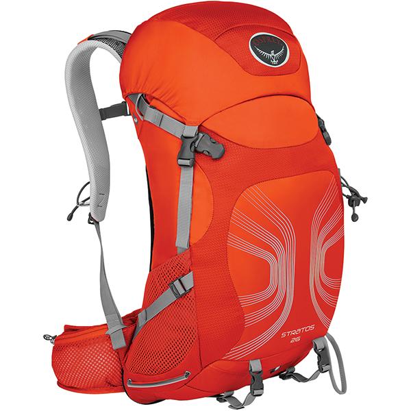 OSPREY(オスプレー) ストラトス 26/ソーラーフレアオレンジ/S/M OS50321アウトドアギア デイパック バッグ バックパック リュック オレンジ 男性用 おうちキャンプ