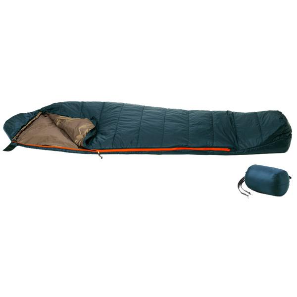 PuroMonte(プロモンテ) MFコンパクトシュラフ150g/PGN/BG MF150グリーン シュラフ 寝袋 アウトドア用寝具 マミー型 マミーサマー アウトドアギア