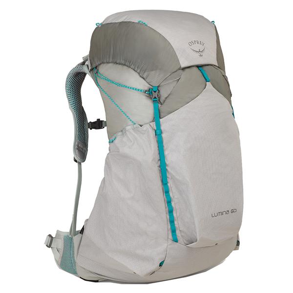 OSPREY(オスプレー) ルミナ 60/シアンシルバー/M OS50343女性用 シルバー リュック バックパック バッグ トレッキングパック トレッキング60 アウトドアギア