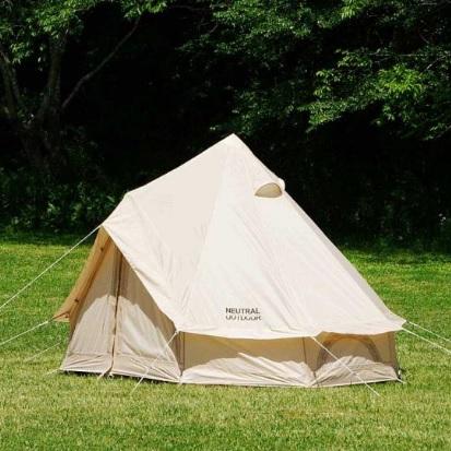 NEUTRALOUTDOOR(ニュートラルアウトドア) NT-TE01 GE テント2.5m 23456テント タープ キャンプ用テント キャンプ2 アウトドアギア