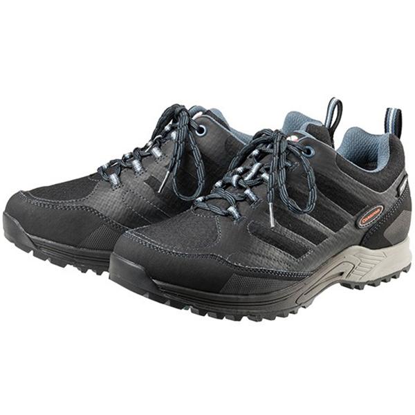 Caravan(キャラバン) キャラバンシューズC1_AC LOW/898ブラック/ブルー/25cm 0010108男女兼用 ブラック ブーツ 靴 トレッキング トレッキングシューズ トレッキング用 アウトドアギア