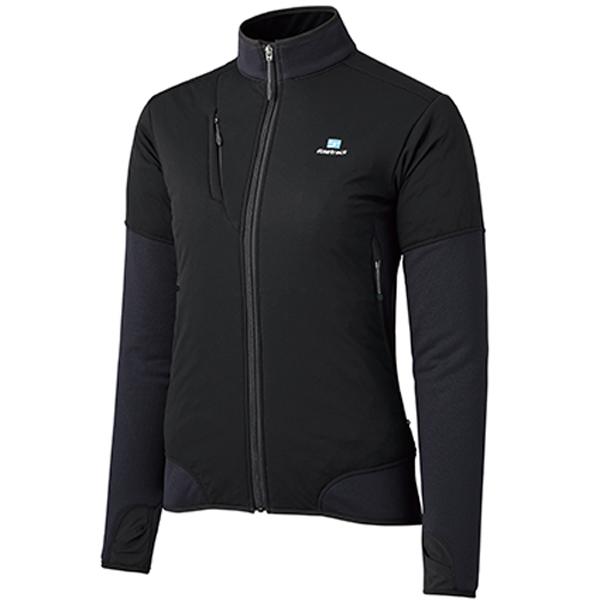finetrack(ファイントラック) ドラウトポリゴン3アッセントジャケット/Ws/BK/M FMW0905女性用 ブラック アウター メンズウェア ウェア ジャケット 中綿入り ジャケット 中綿入り女性用 アウトドアウェア