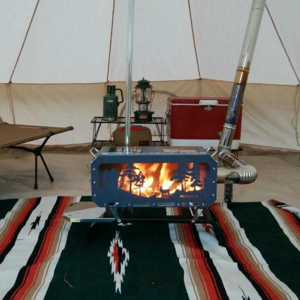 VICTORY CAMP(ビクトリーキャンプ) Stove DD BIG 本体セット VCDB-201ウォーマー ヒーター ストーブ 焚火ストーブ 焚火ストーブ アウトドアギア