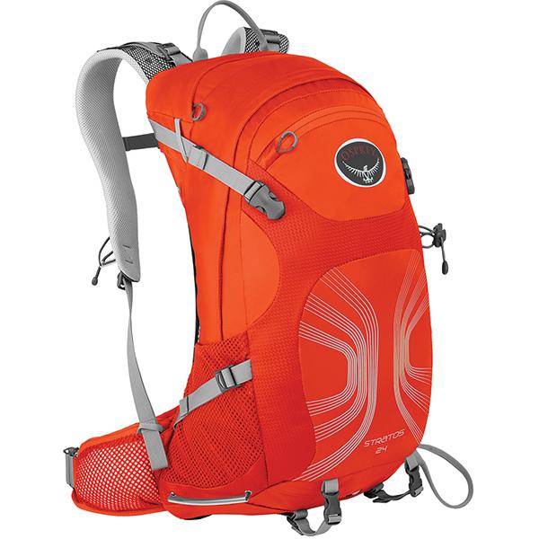 OSPREY(オスプレー) ストラトス 24/ソーラーフレアオレンジ/S/M OS50322オレンジ リュック バックパック バッグ デイパック デイパック アウトドアギア