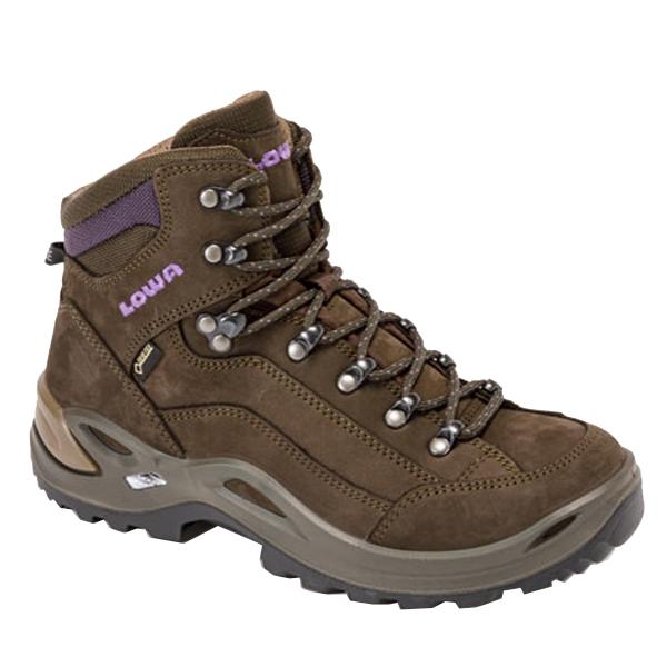 LOWA(ローバー) レネゲードGT MIDウィメンズ/スレート×ブラックベリー/5 L320945-7937アウトドアギア トレッキング用女性用 トレッキングシューズ トレッキング 靴 ブーツ おうちキャンプ