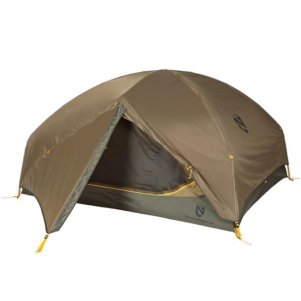 ★エントリーでポイント5倍!NEMO(ニーモ・イクイップメント) ギャラクシーストーム 3P キャニオン NM-GXST-3P-CYブラウン 三人用(3人用) テント タープ キャンプ用テント キャンプ3 アウトドアギア