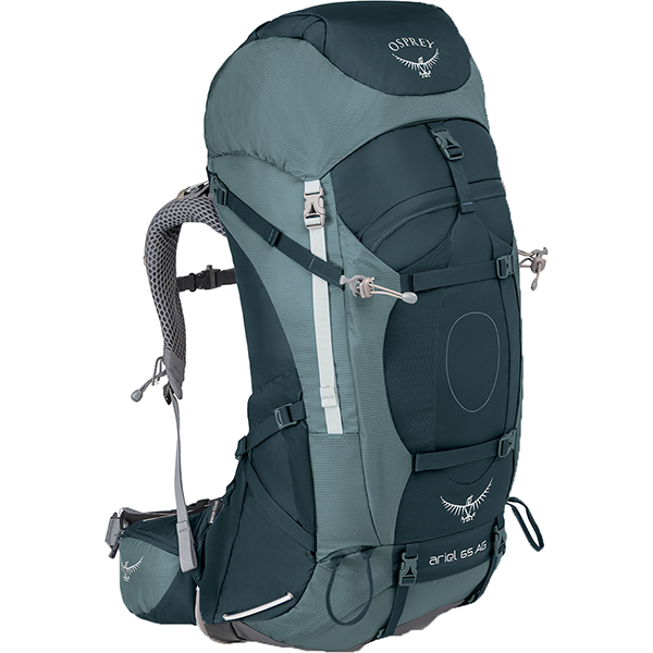 OSPREY(オスプレー) エーリエルAG 65/ブースベイグレー/M OS50066女性用 グレー リュック バックパック バッグ トレッキングパック トレッキング70 アウトドアギア