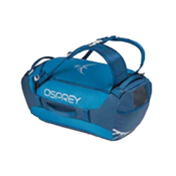 OSPREY(オスプレー) トランスポーター 40/キングフィッシャーブルー/ワンサイズ OS55184ブルー ダッフルバッグ ボストンバッグ トラベル・ビジネスバッグ ダッフル アウトドアギア