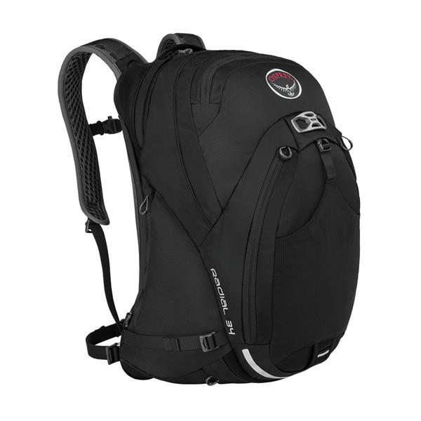 OSPREY(オスプレー) ラディアル 34/ブラック/M/L OS56041男性用 ブラック 自転車用アクセサリー サイクリング 自転車 自転車用バッグ 自転車用バッグ アウトドアギア
