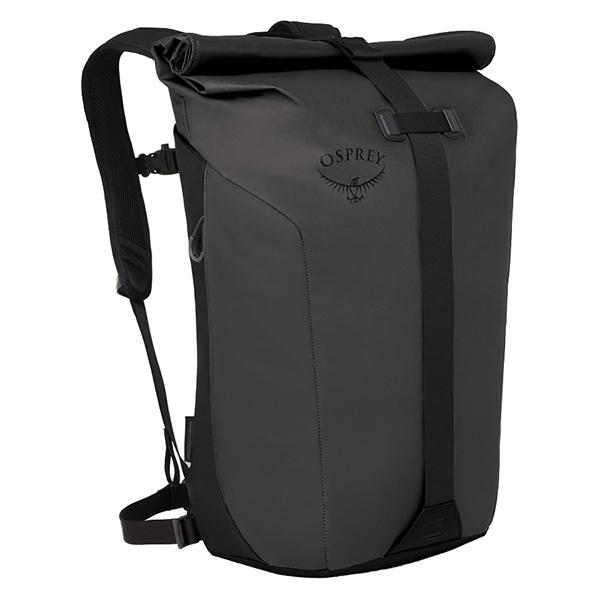 OSPREY(オスプレー) トランスポーターロールトップ/ブラック OS54022001001アウトドアギア デイパック バッグ バックパック リュック おうちキャンプ