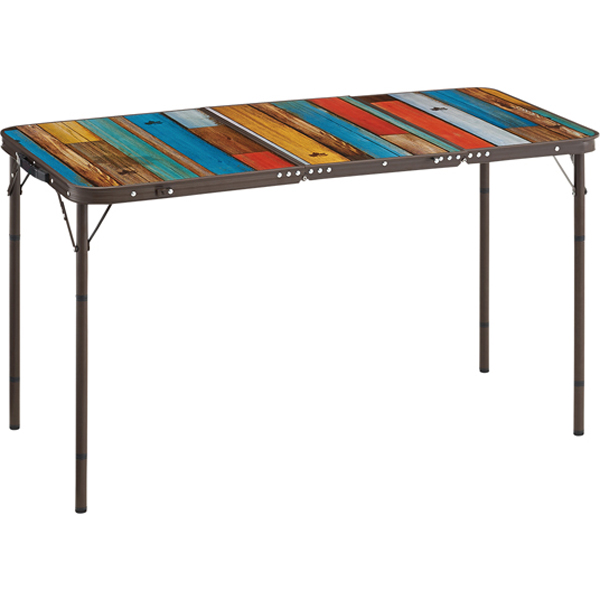 OUTDOOR LOGOS(ロゴス) グランベーシック 丸洗い3FDスリムテーブル 73200021アウトドアギア フォールディングテーブル レジャーシート