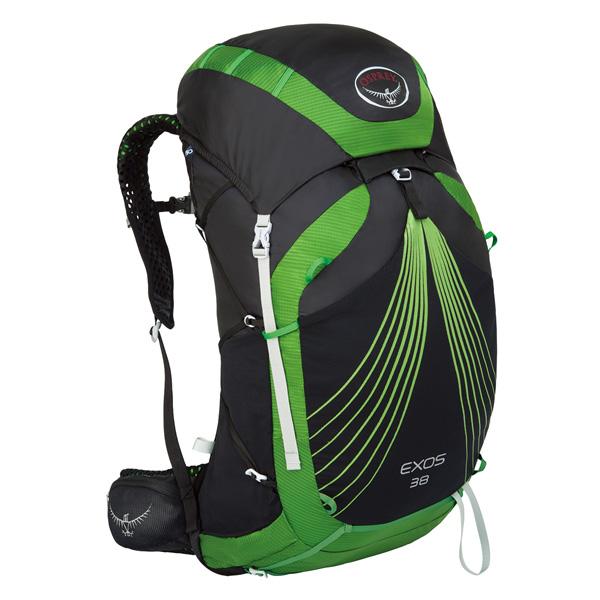 OSPREY(オスプレー) エクソス 38/バサルトブラック/M OS50347ブラック リュック バックパック バッグ トレッキングパック トレッキング40 アウトドアギア