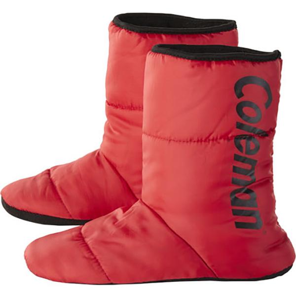 Coleman(コールマン) アウトドアスリッパ レッド/L 2000031089レッド 靴下 メンズウェア ウェア ウェアアクセサリー テントシューズ アウトドアウェア