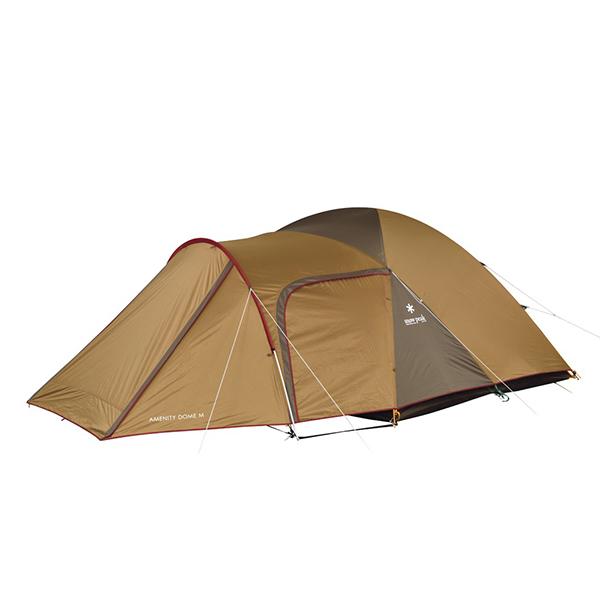 snow peak(スノーピーク) アメニティドームM SDE-001RHアウトドアギア キャンプ5 キャンプ用テント タープ 五人用(5人用) ブラウン おうちキャンプ ベランピング