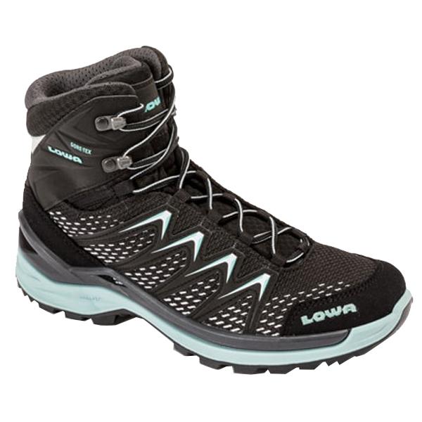 LOWA(ローバー) イノックス プロ GT MID Ws/ブラック×セージ/3H L320703-9915アウトドアギア トレッキング用女性用 トレッキングシューズ トレッキング 靴 ブーツ おうちキャンプ
