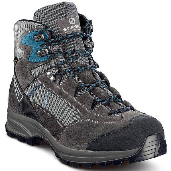 SCARPA(スカルパ) カイラッシュ LITE GTX/グレーシャーク/レイクブルー/#41 SC22012グレー ブーツ 靴 トレッキング トレッキングシューズ トレッキング用 アウトドアギア