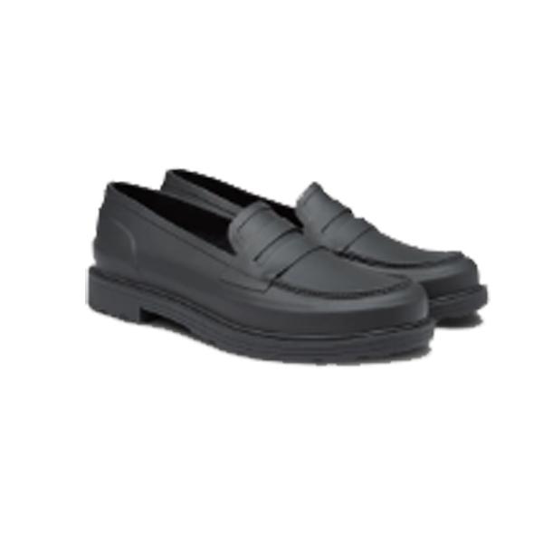 HUNTER(ハンター) メンズ オリジナル ペニーロファー/ブラック/UK8 MFF9062RMA男性用 ブラック ブーツ レインシューズ レディース靴 レインブーツ レインブーツ アウトドアウェア
