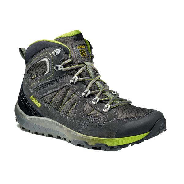 ASOLO(アゾロ) AS.ランドスケープ GV MS/GY/LM/K8.0 1829667アウトドアギア ハイキング用 トレッキングシューズ トレッキング 靴 ブーツ グレー 男性用