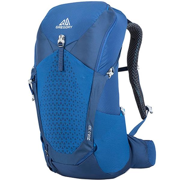 GREGORY(グレゴリー) ZULU 30/EMPIRE BLUE/MD/LG 44J*01012ブルー リュック バックパック バッグ トレッキングパック トレッキング30 アウトドアギア