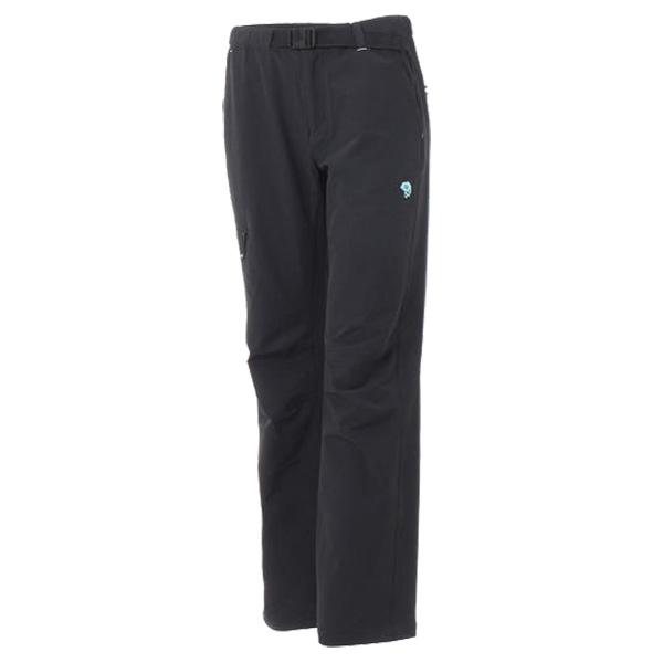 Mountain Hardwear(マウンテンハードウェア) WUNIONPOINTP/090/L-R OR7612アウトドアウェア ロングパンツ女性用 レディースウェア ロングパンツ ブラック