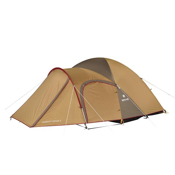 snow peak(スノーピーク) アメニティドームS SDE-002RHアウトドアギア キャンプ3 キャンプ用テント タープ 三人用(3人用) ブラウン