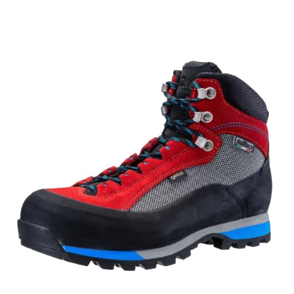 SIRIO(シリオ) 41A/ROSSO/25.0cm 41Aアウトドアギア トレッキング用 トレッキングシューズ トレッキング 靴 ブーツ レッド 男性用