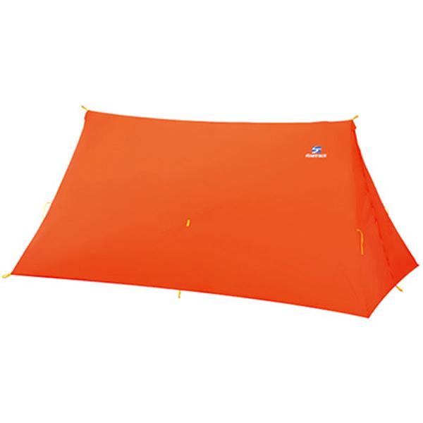 finetrack(ファイントラック) ツエルト2ロング/OG FAG0123アウトドアギア ツエルト・ツエルトポール タープ テント 二人用(2人用) オレンジ