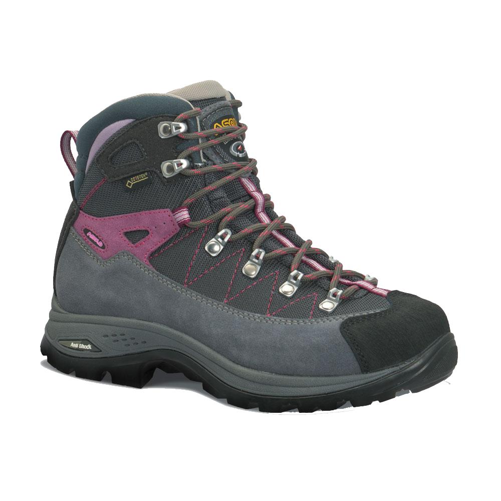 ASOLO(アゾロ) AS.ファインダー GV WS/GY/GP/K7.0 1829676アウトドアギア トレッキング用女性用 トレッキングシューズ トレッキング 靴 ブーツ ピンク