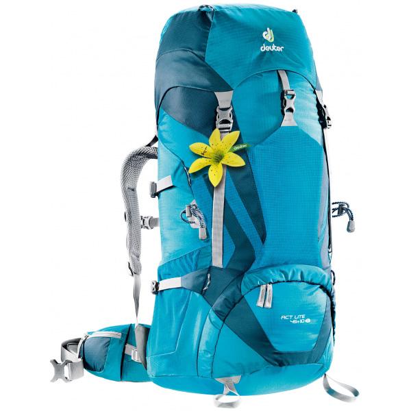 deuter(ドイター) ACTライト 45+10 SLぺトロール×アークティック D3340215女性用 ブルー リュック バックパック バッグ トレッキングパック トレッキング50 アウトドアギア