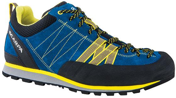 SCARPA(スカルパ) クラックス/ハイパーブルー/イエロー/#40 SC21030ブーツ 靴 トレッキング トレッキングシューズ ハイキング用 アウトドアギア