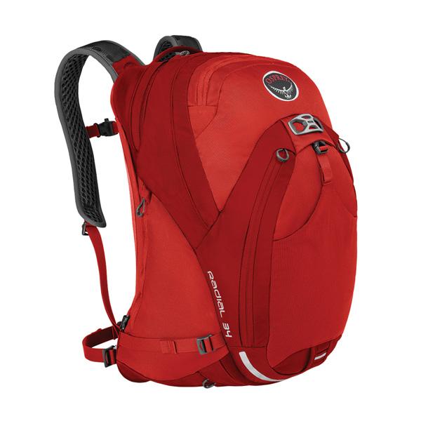 OSPREY(オスプレー) ラディアル 34/ラーバレッド/M/L OS56041001006アウトドアギア 自転車用バッグ バッグ バックパック リュック レッド 男性用
