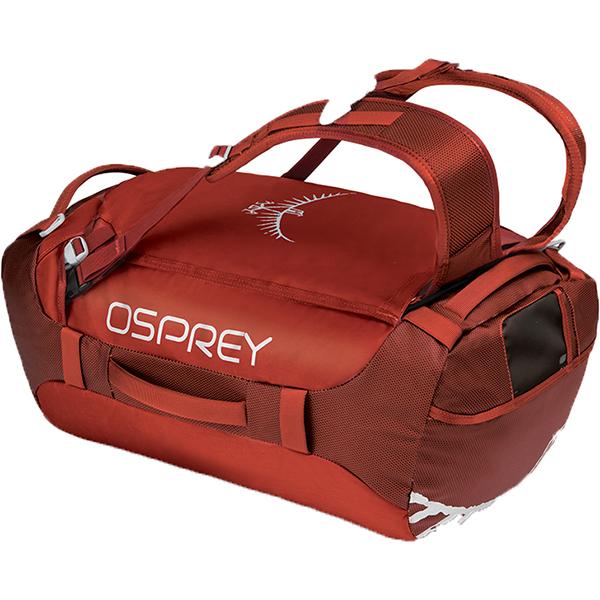 OSPREY(オスプレー) トランスポーター 40/ラフィアンレッド/ワンサイズ OS55184レッド ダッフルバッグ ボストンバッグ トラベル・ビジネスバッグ ダッフル アウトドアギア