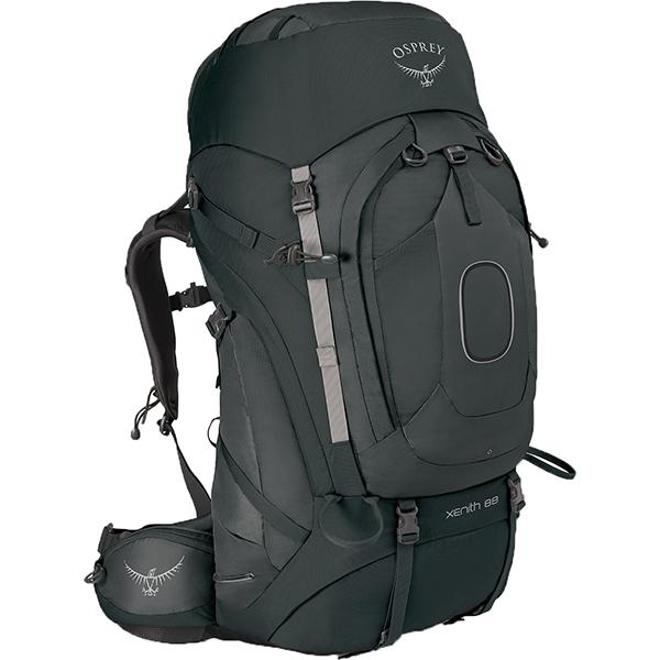 OSPREY(オスプレー) ジーニス 88/テクタイトグレー/L OS50012グレー リュック バックパック バッグ トレッキングパック トレッキング大型 アウトドアギア