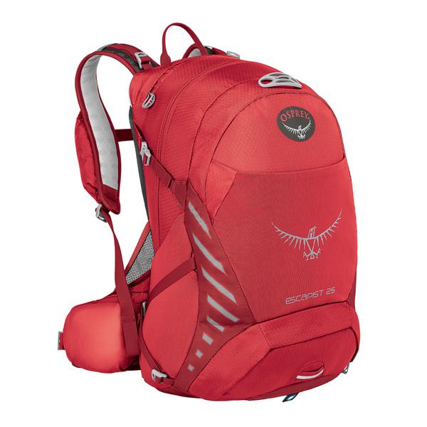 OSPREY(オスプレー) エスカピスト 25/カイエンレッド/S/M OS56312003004アウトドアギア デイパック バッグ バックパック リュック レッド 男性用 おうちキャンプ